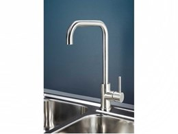 Dorf launches new Maximus stainless steel sink mixers