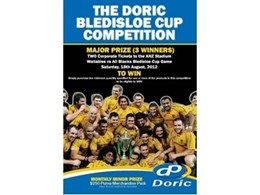 Doric launch new competition for 2012