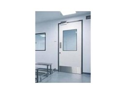 Dortek hygienic swing doors from DMF International