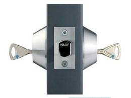 Double cylinder tubular deadbolt locks from ABLOY offer protection against physical attack and picking