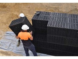 Drainwell underground stormwater retention tanks from NovaPlas