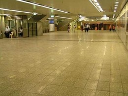 Dry-Treat STAIN-PROOF sealer protects concrete pavers against staining at Parramatta Station