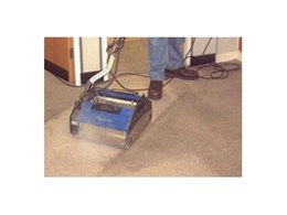 Dry steam carpet cleaners available from Duplex Cleaning Machines