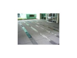 DuPont SentryGlas Expressions from DigiGlass as paving surface