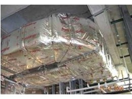 Duct fireproofing made clean and easy with new FYREWRAP fire-rated duct wrap