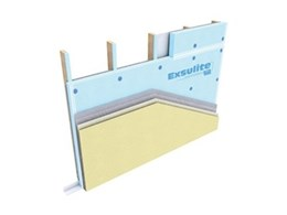 Dulux AcraTex releases lightweight wall cladding system with insulation