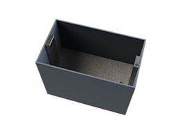 Dump bins with auto drop available from Wharington International