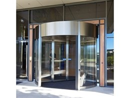 Duotour-AT revolving doors from Record Automated Doors offer more transparent flexibility