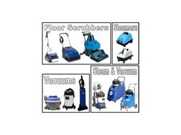 Duplex Floor Scrubber, Duplex 420 Steam and Thermoglide Steam Mops available from Duplex Cleaning Machines