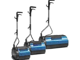 Duplex floor scrubber available