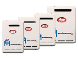 Dux Hot Water launches new range of Endurance continuous flow water heaters