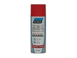 Dy-Mark's all new Zinc Guard epoxy enamel for superior coverage of all metal surfaces