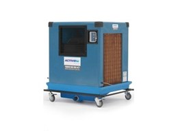 E 08K industrial evaporative coolers available for hire from Active Air Rentals