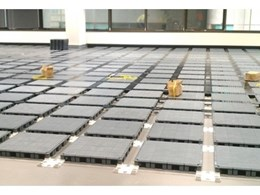 ECO series cable management flooring system from Ecotile Australia