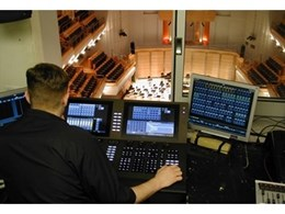 ETC Gio lighting control console is the perfect fit for City Recital Hall