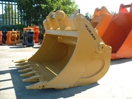 Earthmoving buckets from Titan Manufacturing