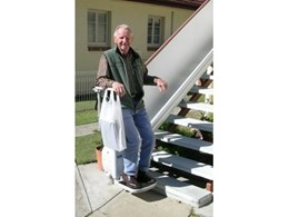 Easy Rider stair lift from Master Lifts help mature aged residents navigate stairs safely
