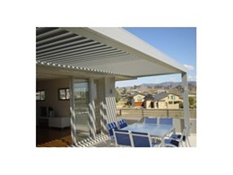 Eclipse opening roof from HV Aluminium installed in Hunter Valley home