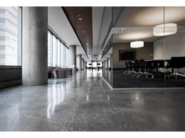 Eco-friendly mechanically polished concrete floors available from Pro Grind