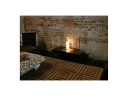 EcoSmart flueless fireplaces available from Abesco Blinds and Awnings