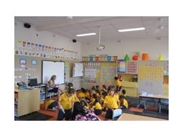 Ecophon ceiling tiles from CSR Limited enhance classroom acoustics