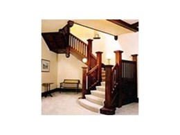 Edwardian stairs available from S & A Stairs