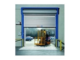 Efaflex High Speed Security Doors from DMF International