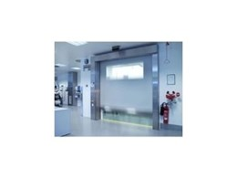 Efaflex high speed doors available from DMF International
