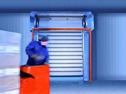 Efaflex high speed freezer doors from DMF deliver high performance