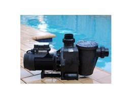 Efficient and quiet Hydrostorm Eco swimming pool pumps available from Waterco