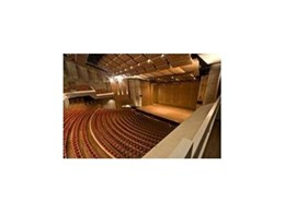 Effuzi International's auditorium seating chosen for Llewellyn Hall Refurbishment Project