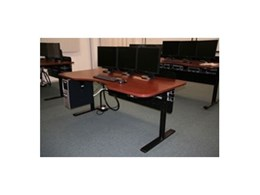 Electric height adjustable desks supplied to Ambulance NSW by Ergomotion