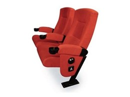 Embassy tilting cushion cinema seating available from Effuzi International