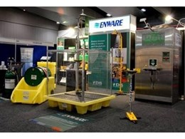 Emergency showers and eyewashes make a splash for Enware Australia at Safety Show in Sydney