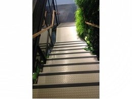 Endura stair treads used in retrofit of Origin Energy Building