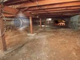 Envirofan sub floor ventilation systems vs. ducting for crawl spaces