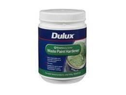 Envirosolutions waste paint hardener from Dulux
