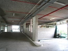 Envirospray 300 and Thermospray 800 Spray-On Thermal Insulation for Car Park Slabs
