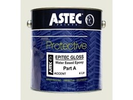 Epi-tec Gloss epoxy floor coatings available from Astec Paints Australasia