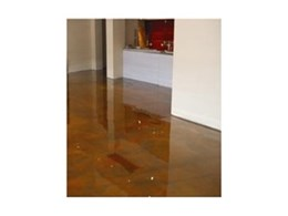 Epoxy concrete coatings - free of VOC's