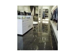 Epoxy floors – translucent finish