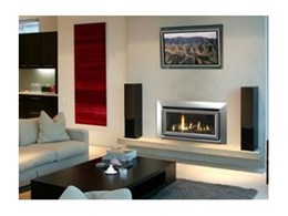 Escea range of Escea designer fireplaces available from Glen Dimplex Australia