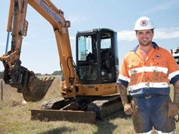 Established Geelong excavation business relies on CASE mini excavators for all projects