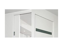Euro Cav flush finish cavity sliding door system from Altro Building Systems