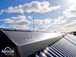 Evacuated tube solar collectors from Apricus