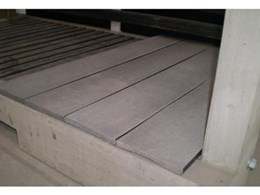 Evertuff recycled plastic/wood material now available in decking profile from Moodie Outdoor Products