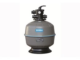 Exotuf thermoplastic granular pool filters available from Waterco