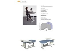 Expert Desk electric height adjustable computer desks from AME System
