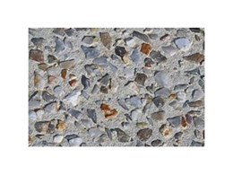 Exposed aggregate from Exquisite Limestone