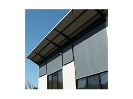 External roller blinds supplied by Shade Factor